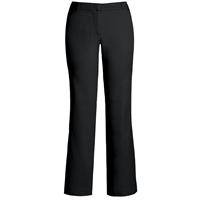 Black Flat Front Stretch Pants