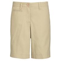 Khaki Flat Front Walk Shorts