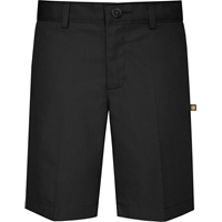 Black Traditional Light Weight Walk Short