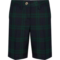 Blackwatch Plaid Irvington Flat Front Walk Shorts