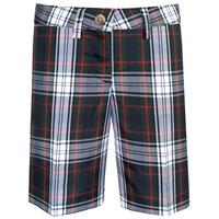 Lloyd Plaid Irvington Flat Front Walk Shorts
