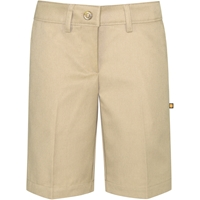 Khaki Irvington Flat Front Walk Shorts