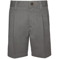 Dark Grey Hawthorne Pleated Front Walk Shorts
