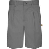 Grey Hawthorne Pleated Front Walk Shorts