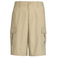 Khaki Cargo Walk Shorts