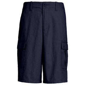Navy Cargo Walk Shorts
