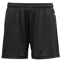 Black Girls Shorts with School logo