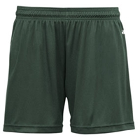Forest Green Girls Shorts with School Logo