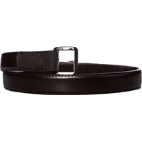 Brown Leather Velcro Closure Belt