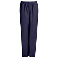 Navy Drawstring Pull-On Pants