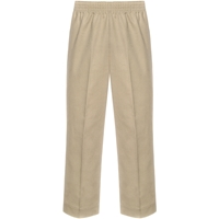Khaki Pull-On Pants