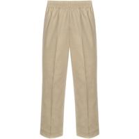 Khaki Pull-On Pants