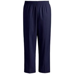 Navy Pull-On Pants