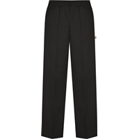 Black Pull-On Pants