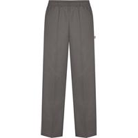 Grey Pull-On Pants