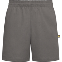 Rainier Grey Pull-On Walk Shorts