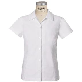 White Short Sleeve Taylor Blouse