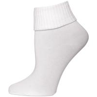 White Cotton Anklet Sock