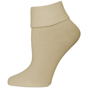 Khaki Triple Roll Socks