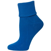 Mayfair Blue Triple Roll Socks