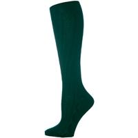 Forest Cable Knit Knee-Hi Socks