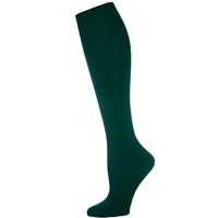 Forest Opaque Knee-Hi Socks