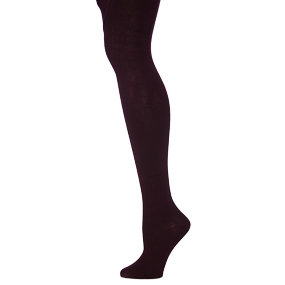 Maroon Heavy Weight Opaque Tights
