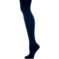 Navy Microfiber Opaque Tights