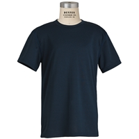 Navy Performance T-Shirt with School Logo