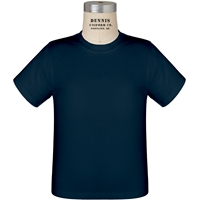 Navy 100% Cotton T-Shirt with School Logo