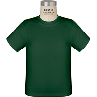 Green 100% Cotton T-Shirt with School Logo