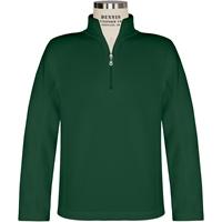Green Quarter Zip Microfleece Pullover