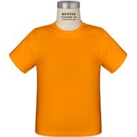 Orange 100% Cotton T-Shirt with School Logo
