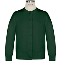 Green Crew Neck with school logo