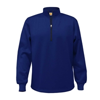 Navy 1/4 Zip Performance Jacket with School logo