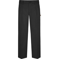 Black Hawthorne Pleated Front Pants