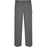 Grey Hawthorne Pleated Front Pants