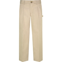Khaki Hawthorne Pleated Front Pants
