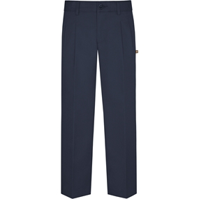 Navy Hawthorne Pleated Front Pants