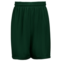 Forest Green Mini Mesh Shorts with School Logo