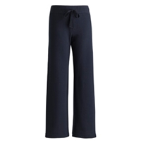 Navy Girls Rugby Sweatpant with School logo