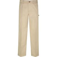 Khaki Irvington Flat Front Pants