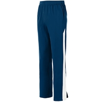 Navy w/White Medalist Pants with School logo