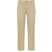 Khaki Irvington Flat Front Stretch Dress Pant