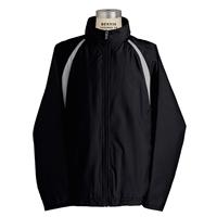 Black Warm-Up Jacket