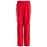 Red Warm-Up Pants with School Logo