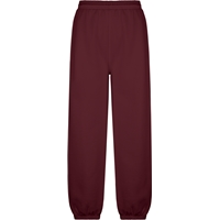 Maroon Sweatpants with School Logo