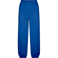 Royal Pull On Sweat Pant with Jogger Bottom with School Logo