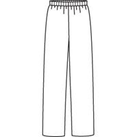 Royal Open Bottom Sweatpants with School Logo