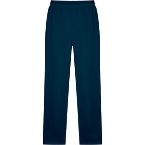 Navy Open Bottom Sweatpants